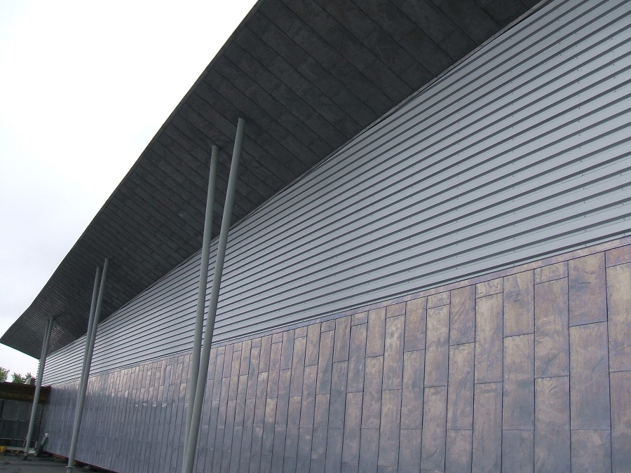 In house Fabricated Metal Wall & Soffit Systems